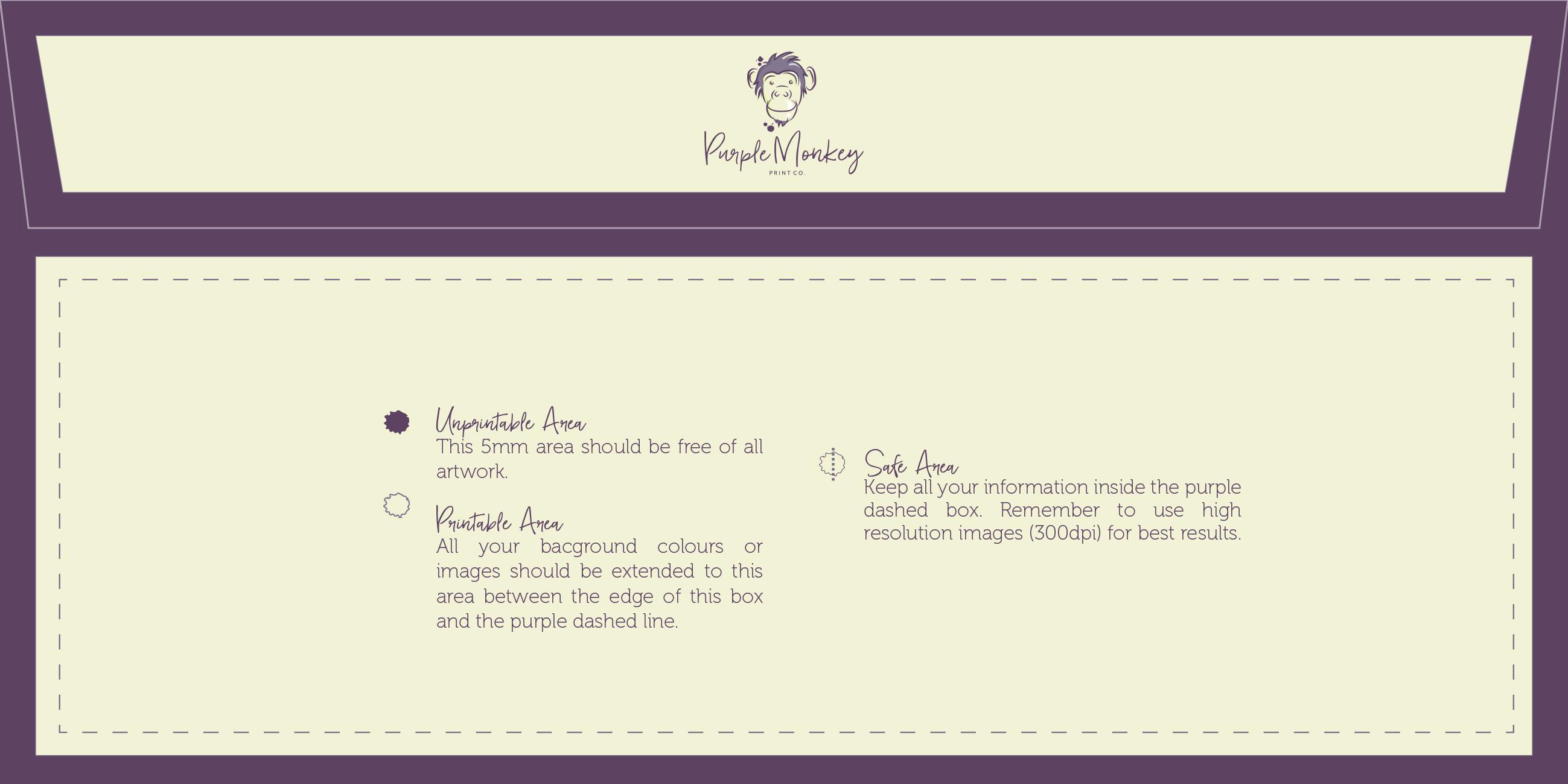 Envelope Printing | Custom Envelopes | Rhyl - Purple Monkey